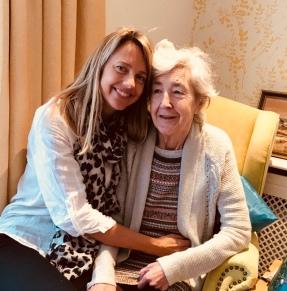 Visiting my mum in Dorset
