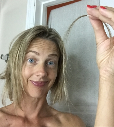 Losing hair after chemo